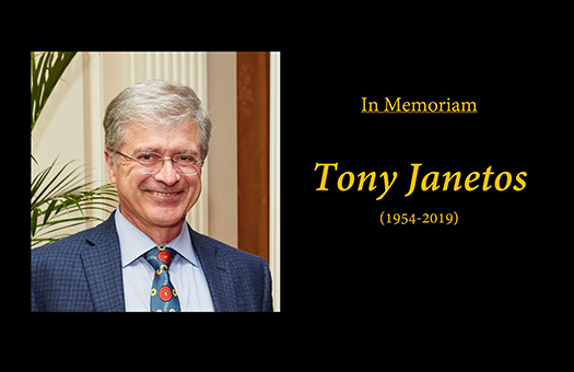 In Memoriam : Tony Janetos , The First LCLUC Program Manager